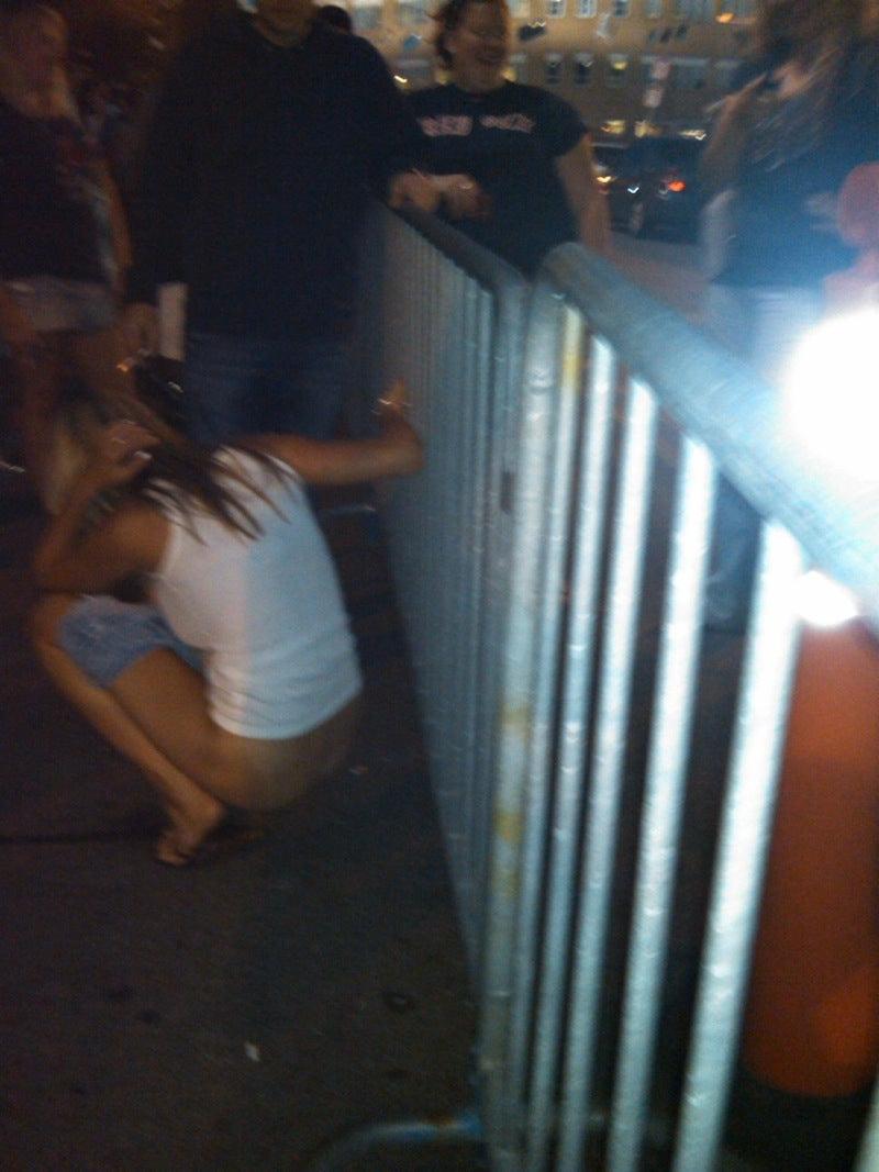Phish Fans Call Out Fenway Girl Pissing In Public