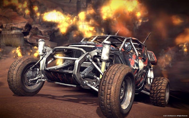 Rage Quit: The Vehicle