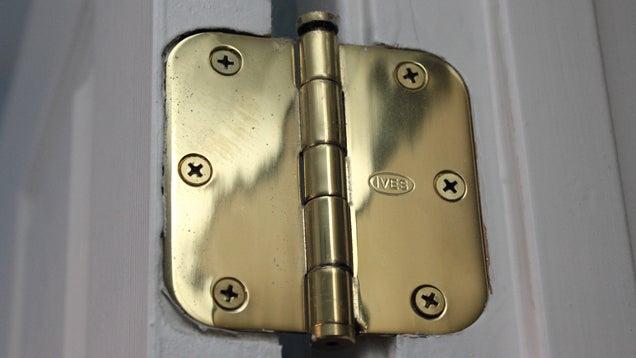 Fix a Droopy Door with a Few Hidden Screws