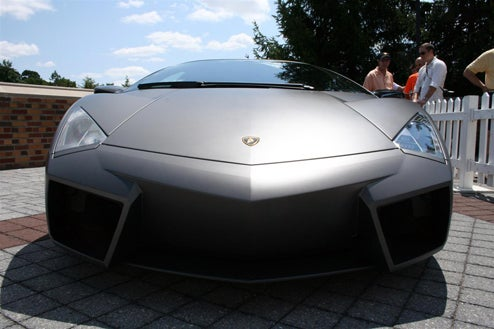 Lamborghini Reventon Makes First Drive Straight to Meadow Brook Concours
