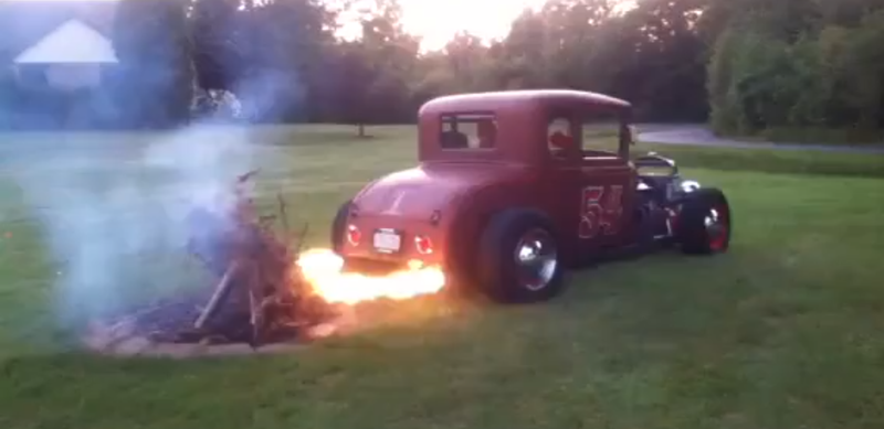 A Practical New Use For Your Flame Shooting Exhaust