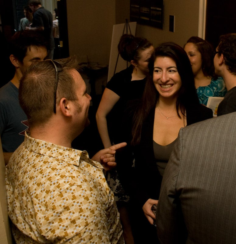 Photos from Sarah Lacy's book party