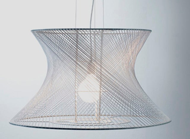 The Casiopea Lamps Are Elevated, Illuminated String Art