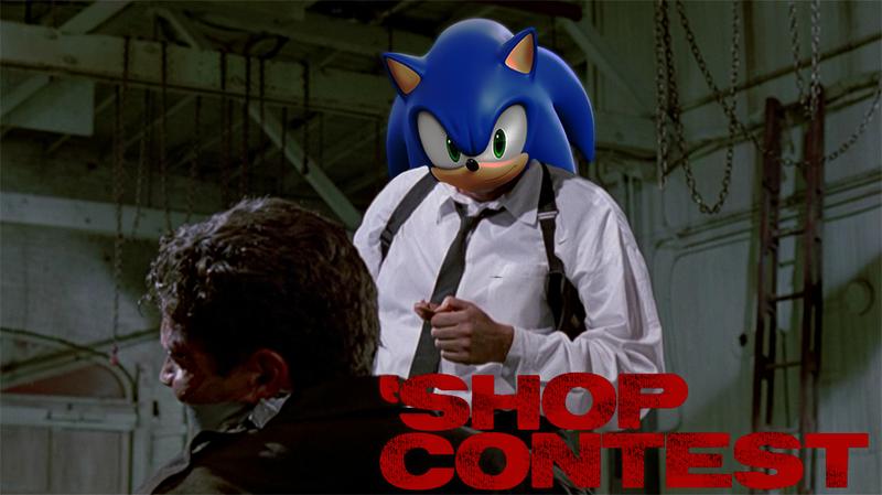 Kotaku 'Shop Contest: The Live-Action Sonic The Hedgehog Movie