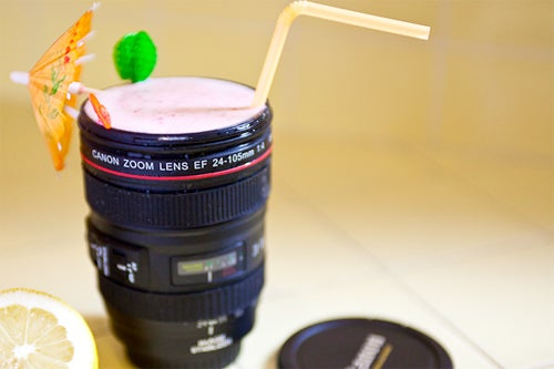 You've Got Your Canon Lens Thermos Already, Now Get a Matching Mug