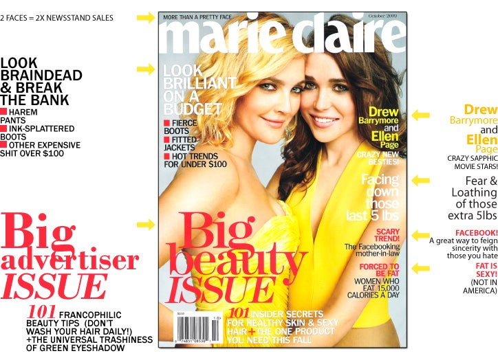 Marie Claire: Drew & Ellen Are Dating?