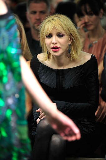 Should You Be Worried When Courtney Love Is Enraptured By Your Show?