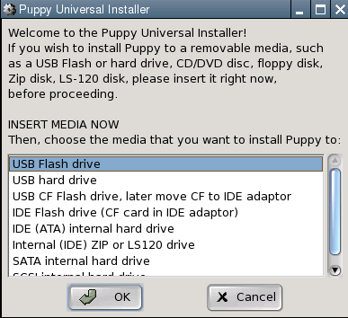 Taking Puppy Linux for a Walk