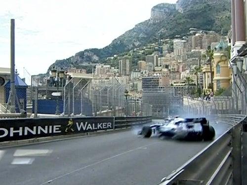 Rubens Barrichello's Monster Monaco Crash