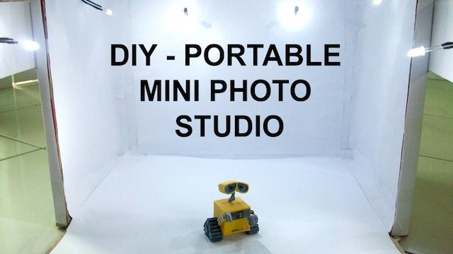 Build Your Own Portable Photo Studio from a Cardboard Box and LEDs