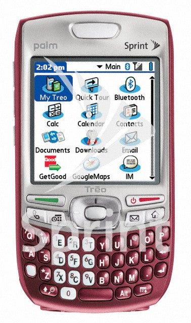 Sprint's Treo 755p Also Comes in Maroon