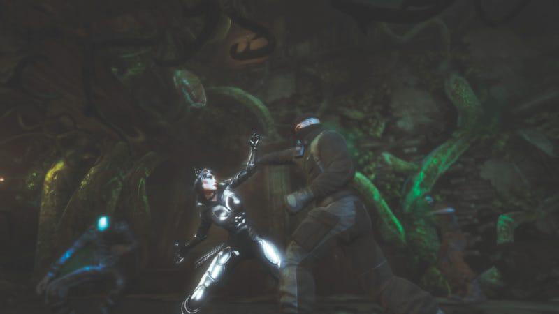 Batman: Arkham City Looks, Um, Different on the Wii U [UPDATE]