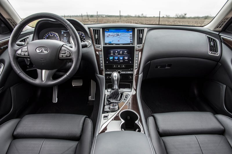 The 2016 Infiniti Q50 Proves Two Turbos And 400 HP Make Everything Better