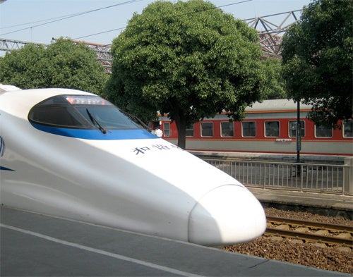 A New Train Record Has Been Smashed in Shanghai's Speedy Bullet Train