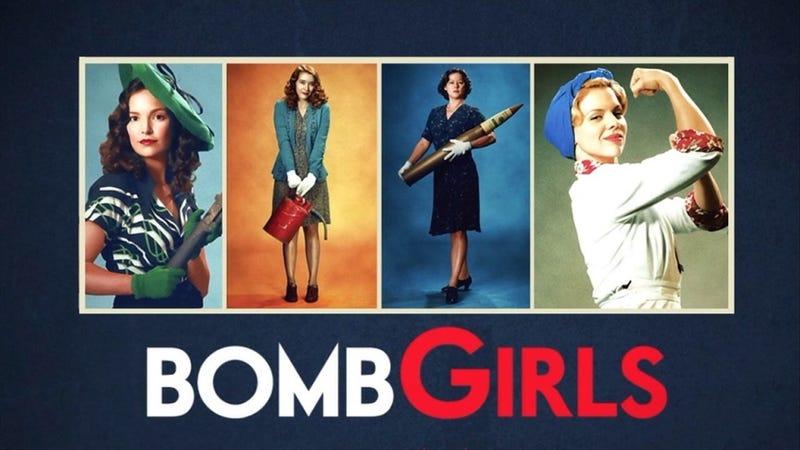 BOMB GIRLS : Cheery Feminist Pinup Noir on Netflix