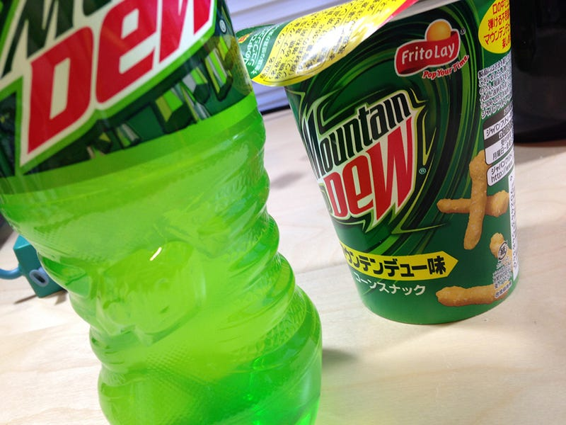 Mountain Dew Cheetos: The Snacktaku Review