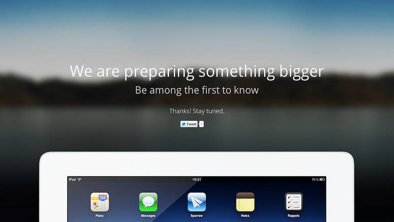 Sparrow Is Coming to the iPad
