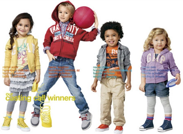 New Batch Of Adorable, Aesthetically Perfect Children Win Gap Modeling Contracts