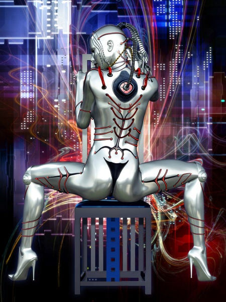 The Singularity is Sexy: The Loveliest Robot and Cyborg Art [NSFW]