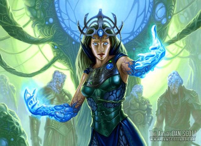 Magic the Gathering's Secret Sci-Fi History