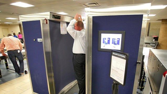 The TSA Doesn't Deny That It's Really Easy to Fool TSA Naked Body Scanners