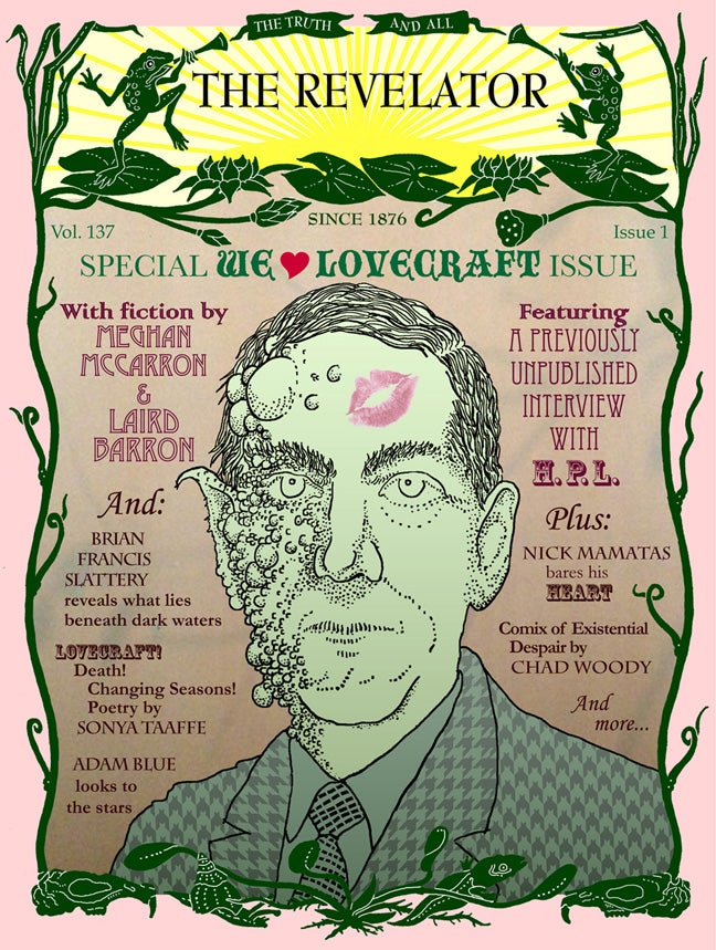Celebrate H.P. Lovecraft with amazing fiction and essays!