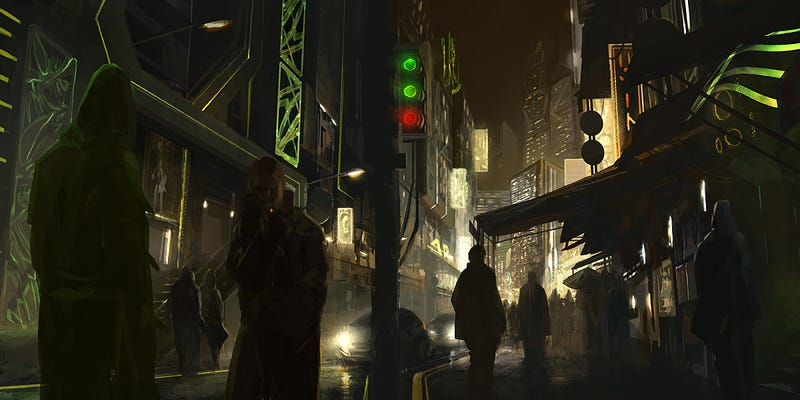 The Most Beautiful Art Based on William Gibson's Neuromancer