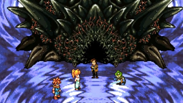 Doctor Who invades the classic RPG Chrono Trigger