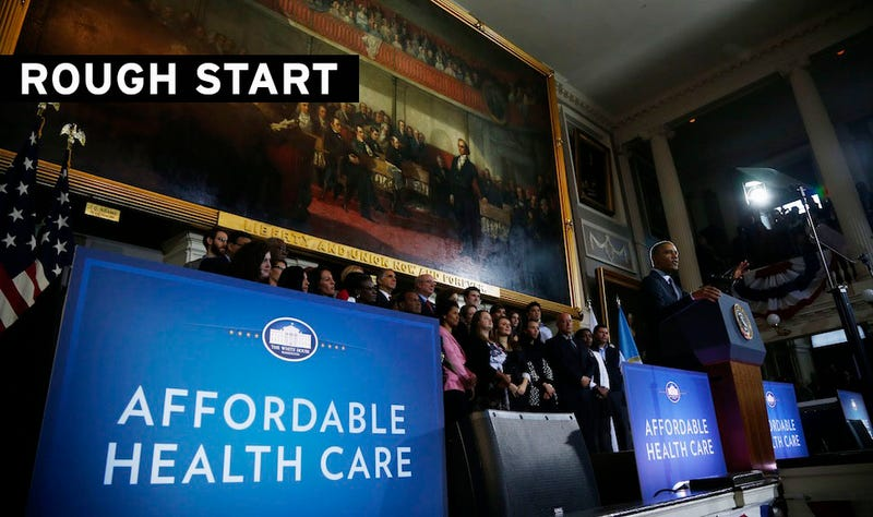 Only Six People Signed Up on Healthcare.gov's First Day