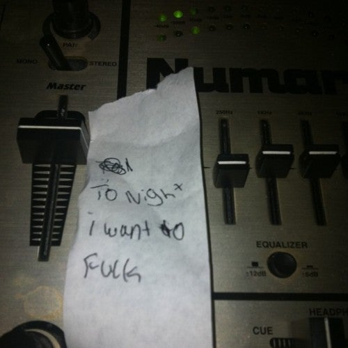 Threats, Blowjobs, Drugs, and Other Notes at the DJ Booth