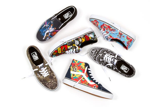 New Vans Star Wars Sneakers And Apparel