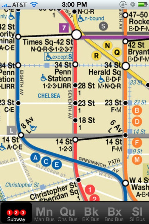 NYCMate: Free New York Transit Maps For iPhone and Android