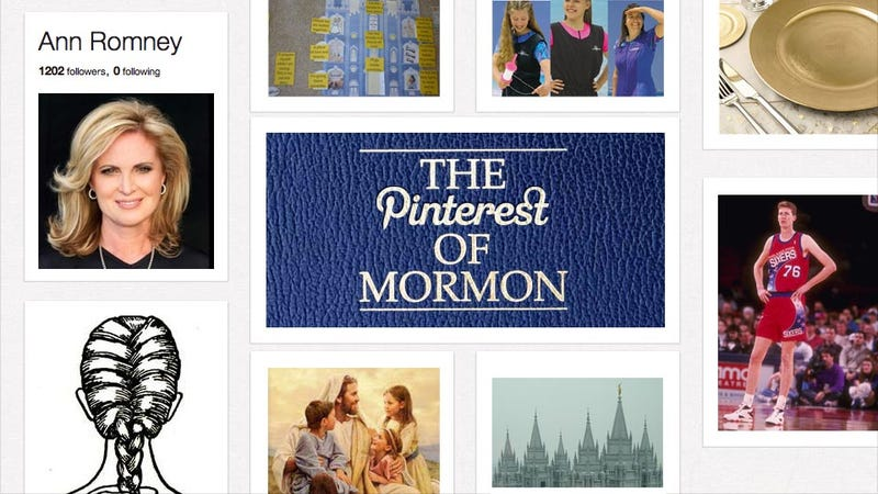 Why Do Mormons, Including Mitt Romney's Wife, Love Pinterest?