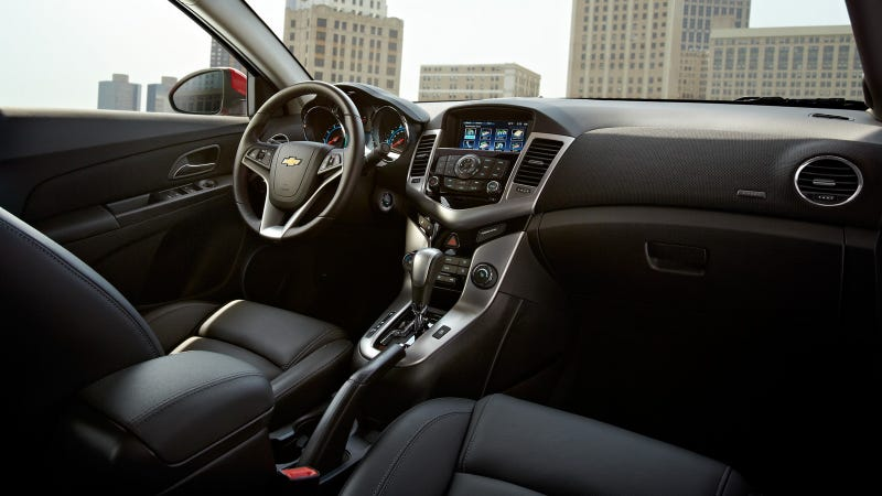 2013 Chevy Cruze - Dashboard rage