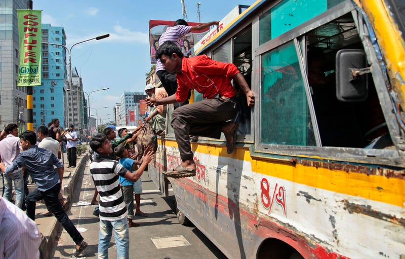 At Least 17,000 People A Year Die on Bangladesh's Roads