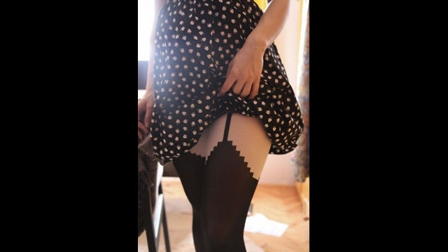 Sexy 8-Bit Stockings Give Me Some Classic Turgidity Action