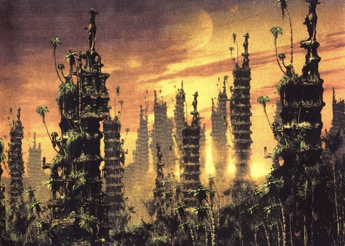 Stackable City Of the Oddworld Dead