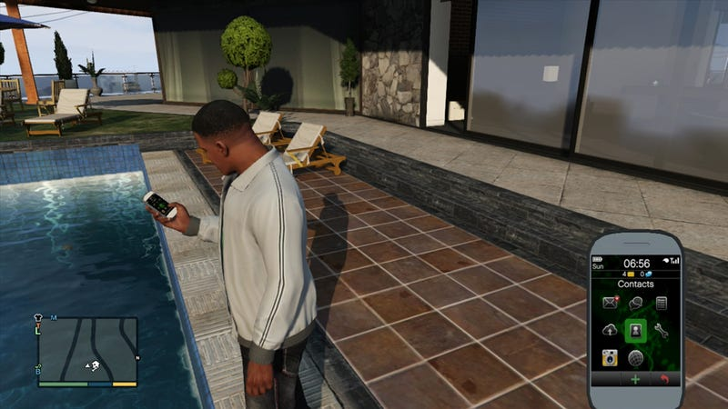 Pay Attention, GTA V's Cell Phones Are Great
