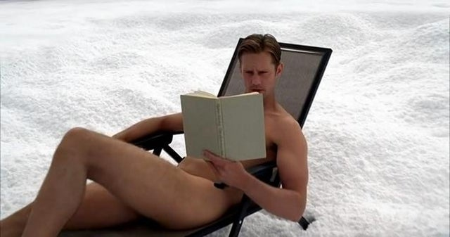 Here's Alexander Skarsgard Naked on a Toilet In the Middle of Antarctica