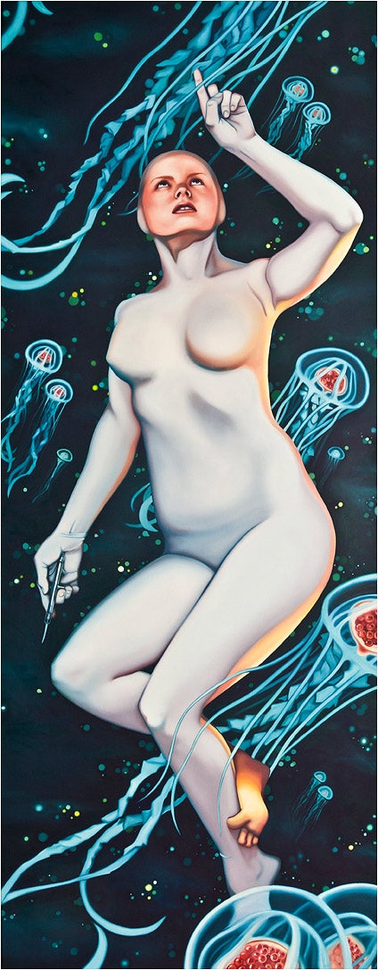Space Babes in Danger: The Space Opera Pin-Up Art of Megan Burns