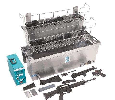 Washing Machine Makes Your Assault Rifles Sparkle