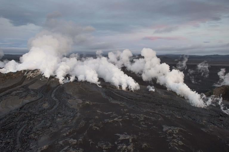 Bárðarbunga Briefly Burbles With A Midnight Fissure Eruption
