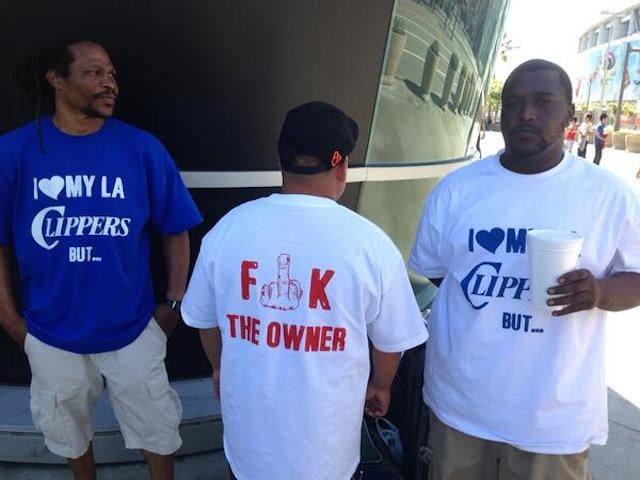 Get Your Anti-Donald Sterling Shirt Outside Staples Center