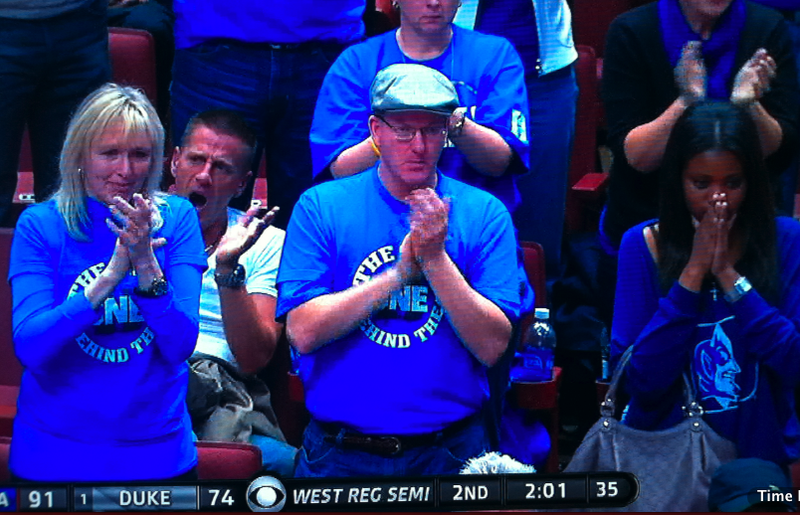 Jimmer Left The Court With A Bandage On His Chin, But Kyle Singler Probably Saw His Mom Crying