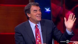 Stephen Colbert Asks Tim Draper Why He Wants to Destroy California