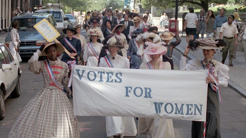 Saturday Night Social: Celebrate Women's Suffrage