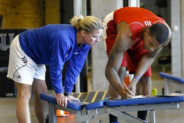 Kansas Has The Only Female Strength And Conditioning Coach In Men's Division I Basketball