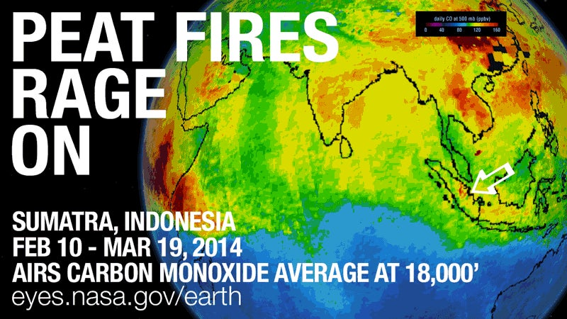 Sumatra Has Been On Fire for Over a Month