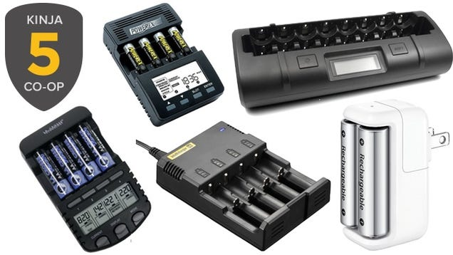Five Best Battery Chargers