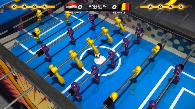 This Could Be The Most Realistic Foosball Game Ever